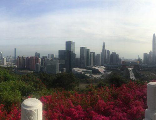 Shenzhen this time around